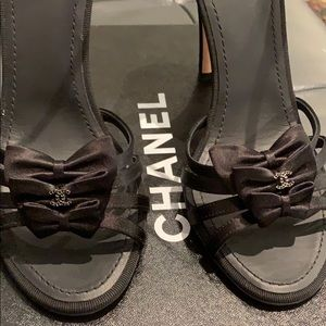 Authentic Chanel sandals NEW!